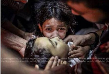Israel continues to target children
