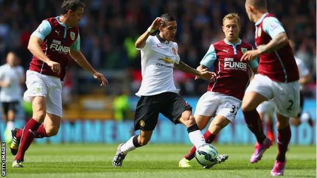 Man United draw against Burnley