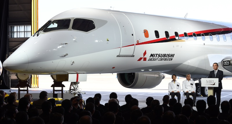 Japan to unveil first passenger jet in four decades