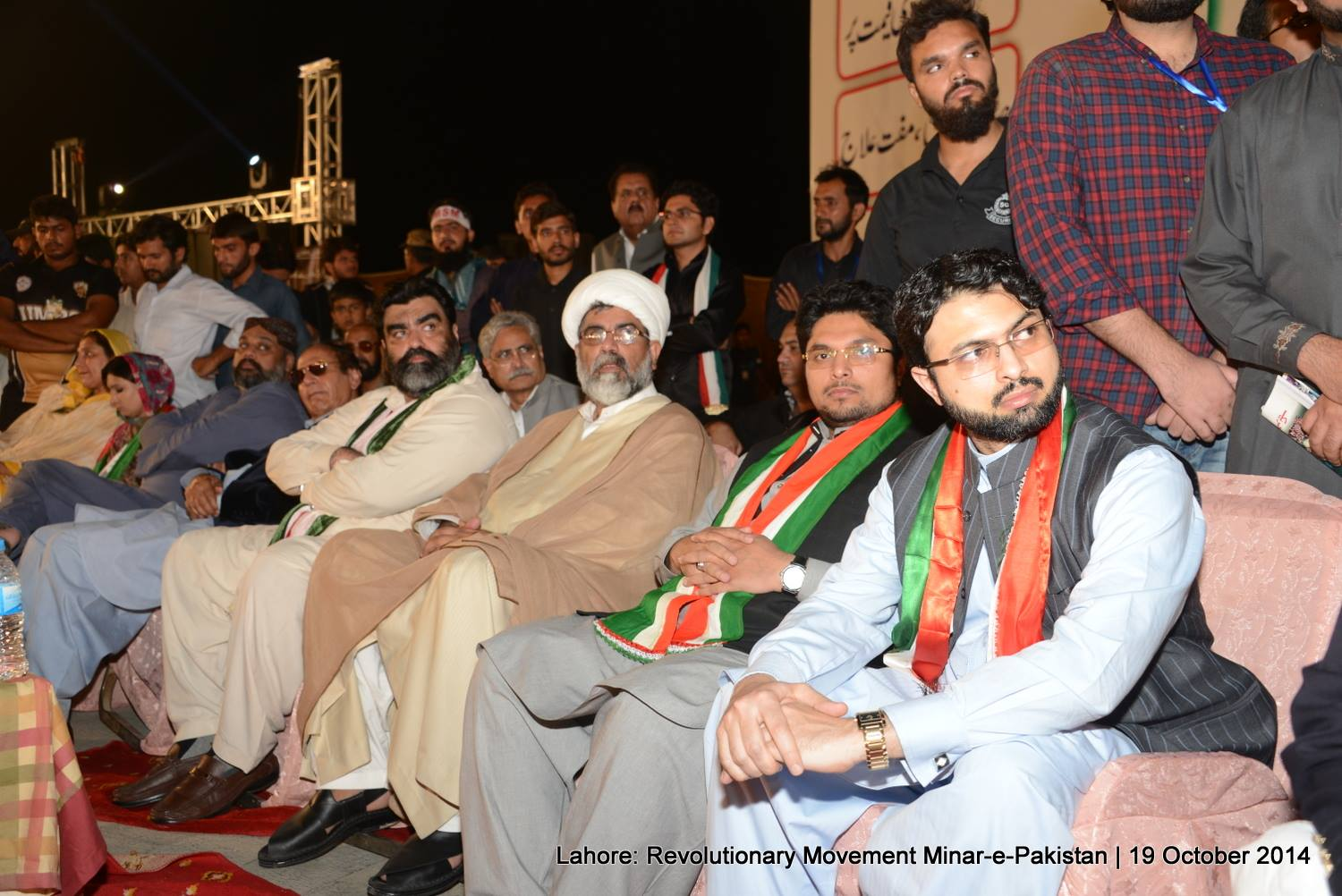 Dr. Hassan and Dr. Hussain attend the Lahore  convention