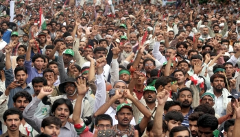 Masses chant Go Nawaz Go