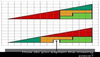 Illusion:How do you explain the missing piece?