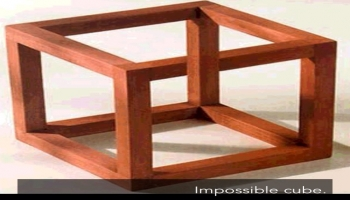 Illusion:Impossiable cube