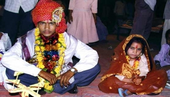 1/3 of worlds child brides hail from India