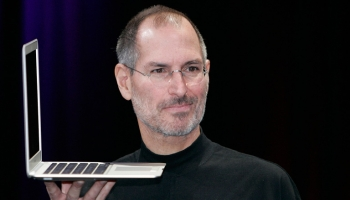 Steve Jobs prepares to make a film about the struggle