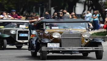Old is Gold-Clasical cars exhibition In Mexico city