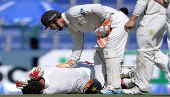 Centurion Ahmed Shehzad fractures skull in first Test