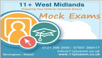 11+ West Midlands' Mock Exam Dates 2015